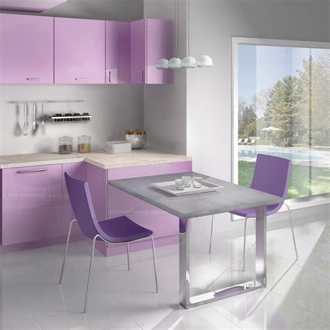 plan de travail violet plan de travail cuisine