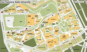 SF state campus map - San Francisco state university ...