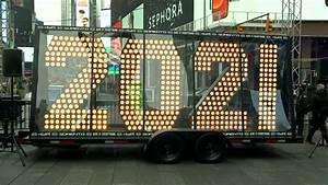 Times Square '2021' numerals arrive in New York City ahead of New Year's Eve - ABC7 New York
