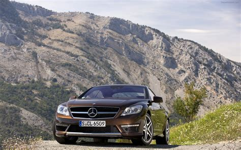 Inside, the cl 65 amg featured the same elegant interior as its brothers, but there were few differences. Mercedes Benz CL65 AMG 2011 Widescreen Exotic Car ...