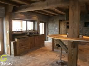 que faire avec un de cuisine cool cuisine de ferme vieux bois with fabriquer un caisson