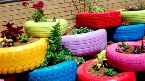 Gartendeko Mit Reifen by Gartendeko Selber Machen 50 Lustige Ideen
