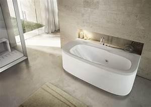 Baignoire à Poser : baignoire baln o ovale poser ou encastrer muse ~ Melissatoandfro.com Idées de Décoration