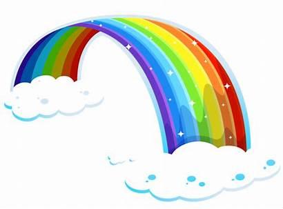 Rainbow Clipart Cartoon Graphic