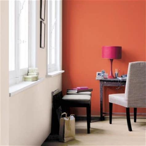peinture de cuisine tendance déco bureau orange