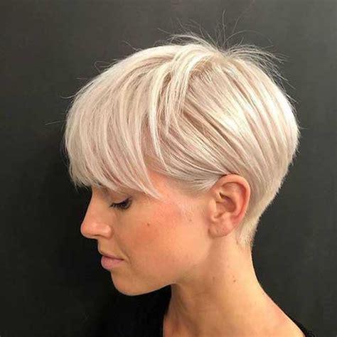modern short blonde hairstyles for ladies short haircut com