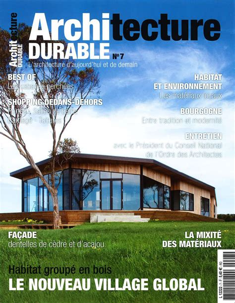 Architecture Durable  French Magazine — Rockefeller