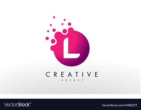 letter l logo l letter design royalty free vector