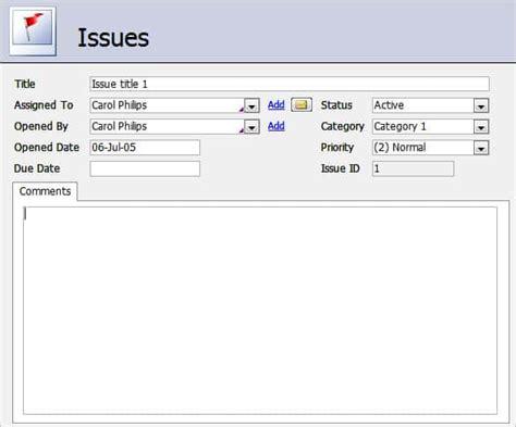 microsoft access templates  premium templates