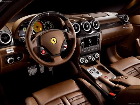 Ferrari 612 Scaglietti Supercar Interior G Wallpaper