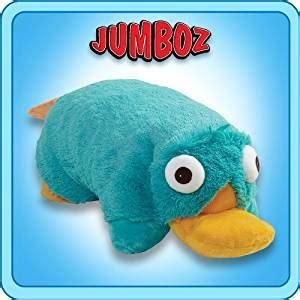 jumbo pillow pets pillow pets authentic disney 30 quot perry the