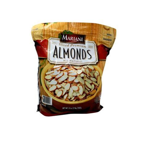 Mariani Sliced Premium Almonds (2 lb) from Costco - Instacart