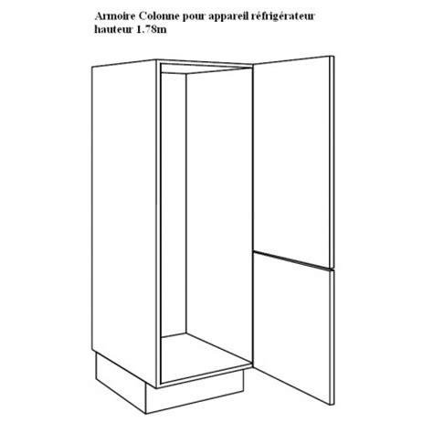 element de cuisine pour four encastrable largeur meuble frigo
