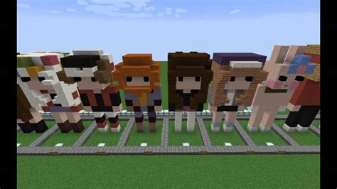 Cute Chibi People In Minecraft