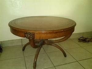 how much is my antique zangerle round coffee table worth With how much is a coffee table
