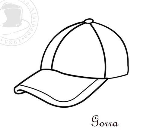 sombreros para colorear i