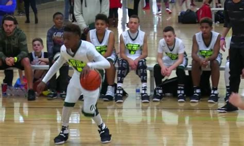 year  lebron james jr shows  talents  latest