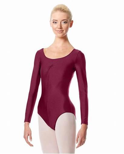 Leotard Sleeve Shiny Ballet Justaucorps Giselle Dancewear