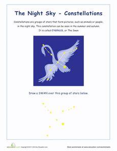 constellation of cygnus worksheet cygnus constellations cygnus constellation
