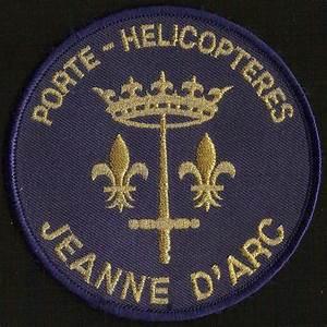 patch insigne tissu porte hélicoptères Jeanne d'Arc La Jeanne