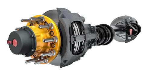 Saf-holland Introduces Lower-cost Air Disc Brake For