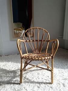 Chaise Enfant Rotin : petite chaise enfant en rotin luckyfind ~ Teatrodelosmanantiales.com Idées de Décoration