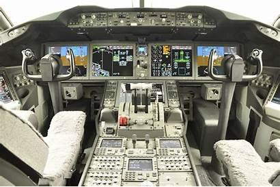Cockpit 787 Boeing Avion Cockpits Aircraft Avions