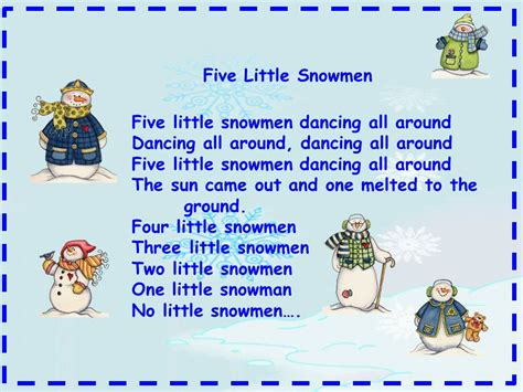 more snowman songs classroom freebies 732   Snowmendancingallaround