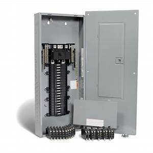 Square D  80 Circuit Qo Panel Package With