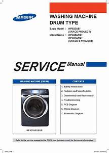 Samsung Wf457argsgr Wf457argswr Washer Service Manual And