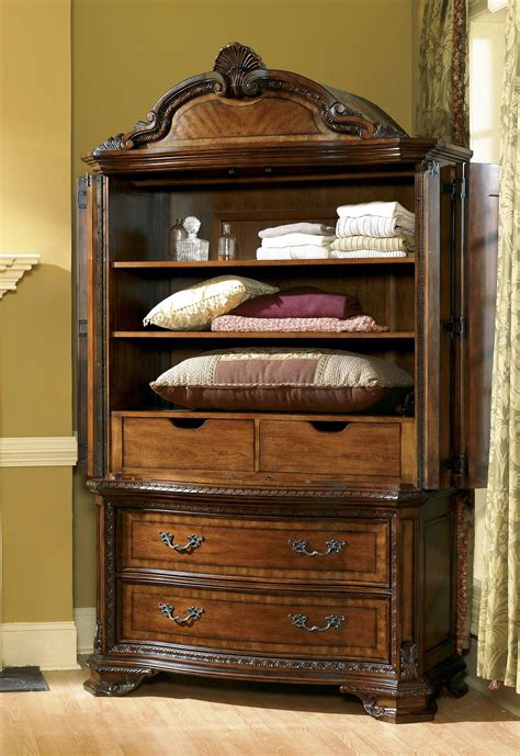 Dresser And Armoire Set by Furniture Bedroom Armoire Set 143160 2606 Hickory
