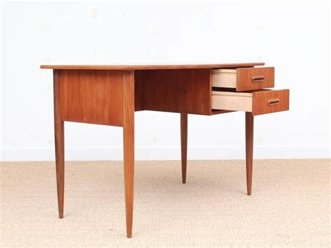 mid century modern small desk mid century modern small standing desk in teak for sale at