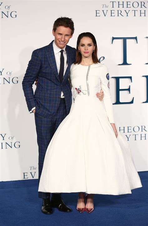 Felicity Jones looked impeccable in Dior next to Eddie ...