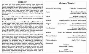 25 obituary templates and samples template lab With death program templates