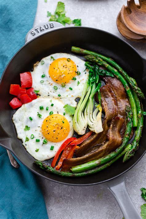 carb bacon  eggs life  keto