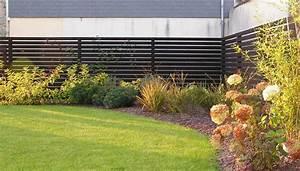 Palissade De Jardin : palissade composite domagne 35 terrasse jardins ~ Melissatoandfro.com Idées de Décoration