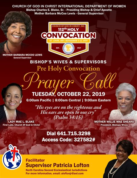 international department  women  holy convocation