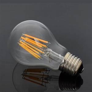 Retro Glühbirne Led : warmwei retro edison filament die gl hbirne vintage runde a60 e27 16w led lampe ebay ~ Orissabook.com Haus und Dekorationen