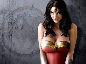 Alice Goodwin Wonder Woman Hot Model Wall Print POSTER CA