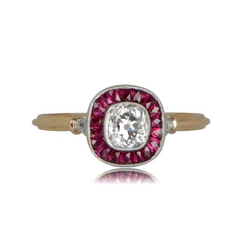 0 50ct dublin engagement ring estate jewelry