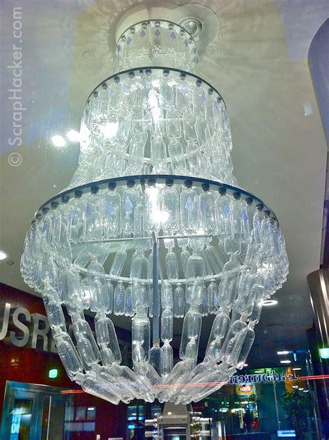 genius in a bottle the amazing plastic bottle chandelier