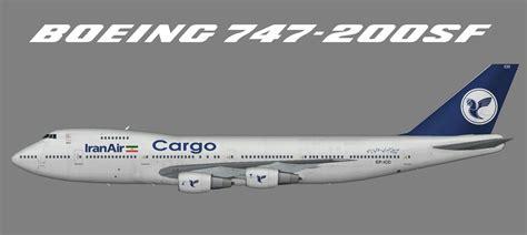Iran Air Cargo Boeing 747-200F – Juergen's paint hangar