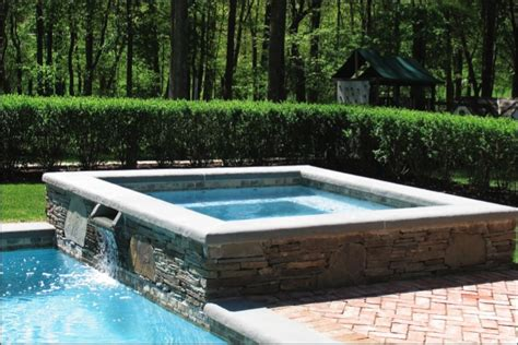 17 best images about pools with spas on blue