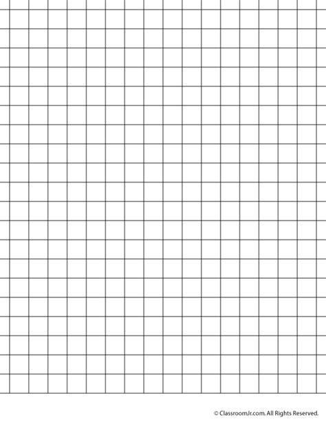 printable graph paper  grid paper woo jr kids