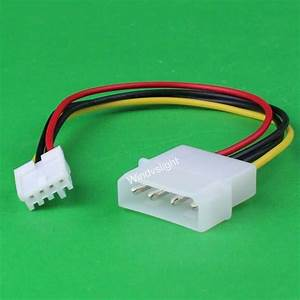 Molex 4pin Male Ide To Mini 4pin Female Fdd Floppy Drive