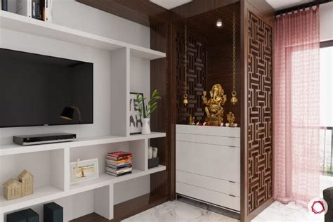 Home Temple Interior Design by 10 Mandir Designs For Contemporary Indian Homes