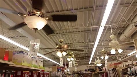 ceiling fan hardware ceiling fan display in an ace hardware 2035