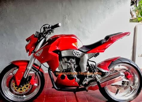 Modifikasi Honda Verza Fighter by Contoh Gambar Cara Modifikasi Honda Verza Fighter