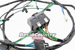 Holden H4 H1 Twin Headlight  Relay Wiring Loom Harness Hx