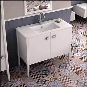 Meuble Vasque Retro : univers retro dans la salle de bain ~ Teatrodelosmanantiales.com Idées de Décoration